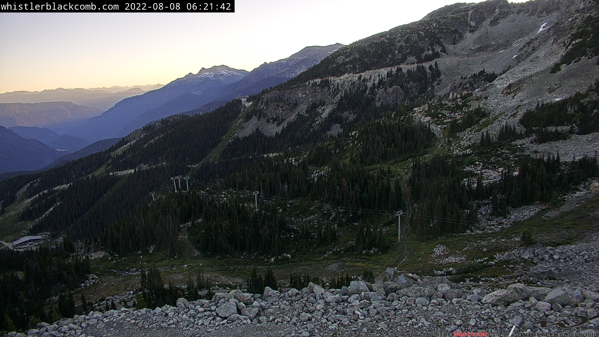 Blackcomb Mountain Camera