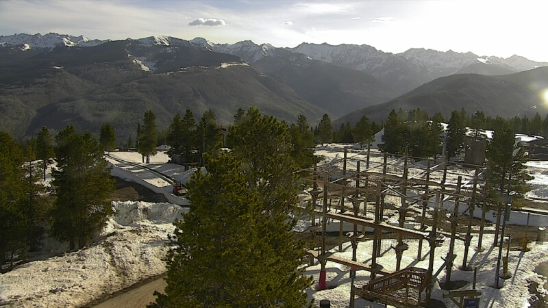 Web Cam - View of Gore Range from Front Side of Vail Mountain
