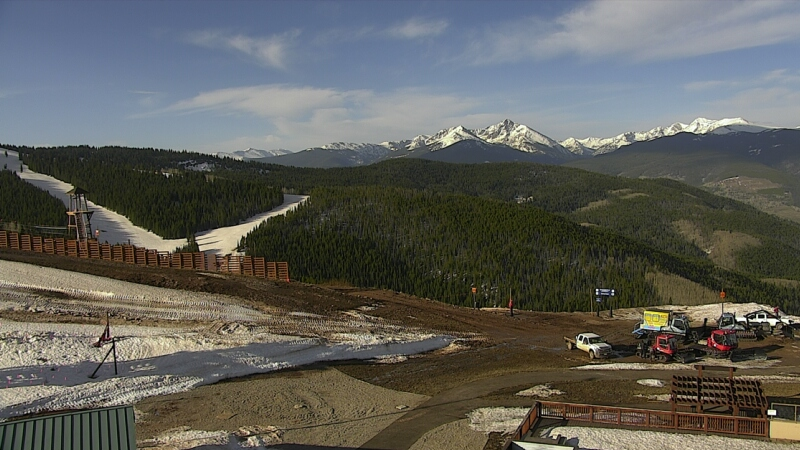 Eagles Nest Holy Cross Webcam - Vail, CO