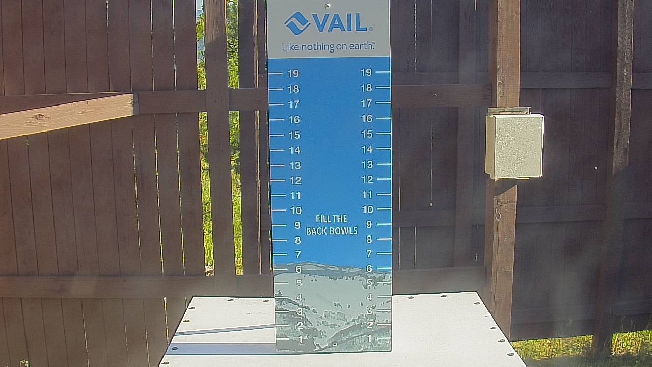 Mid-Vail Snow Stake