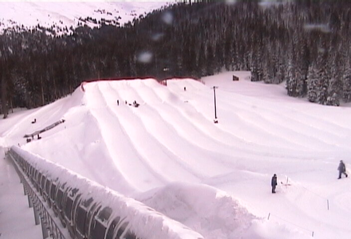 Keystone Adventure Point Tubing The tubing hill atop Dercum Mountain ski web cam