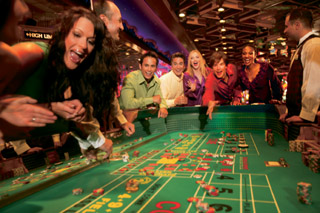 Entertainment Craps Table