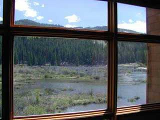 Mountain View From Living Room