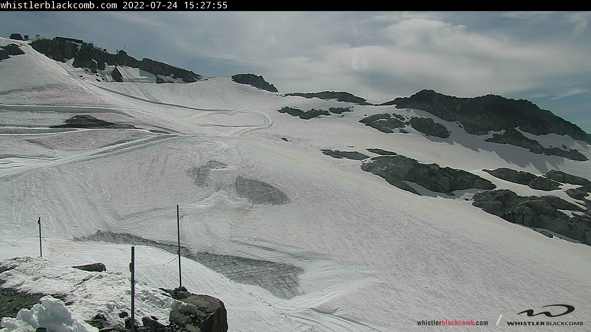 Whistler Blackcomb, Horstman Glacier - Top
