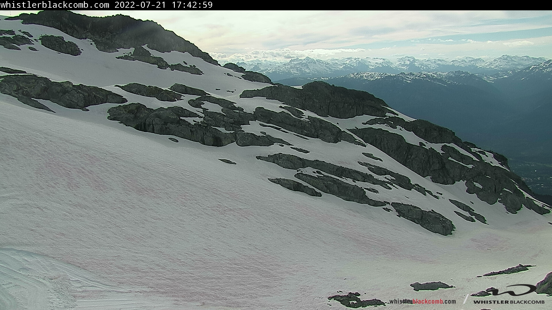 Whistler Blackcomb, Horstman Glacier - Middle