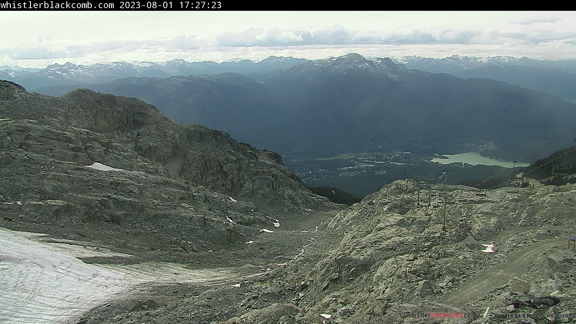 Whistler Blackcomb, Horstman Glacier - Bottom