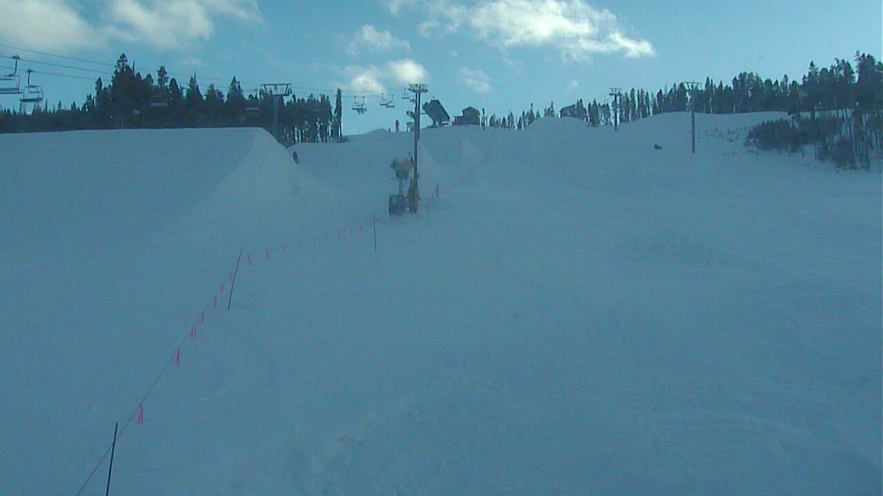 Area 51 Terrain Park in Keystone Ski Resort
